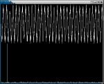 Zeitsignal (oben) und Frequenzspektrum