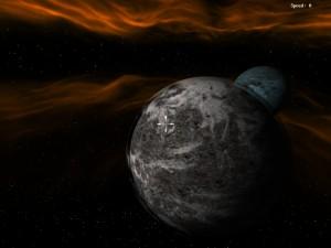 Skybox,Lichtengine und Planeten