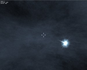 X-tfb Nebel, Sonne