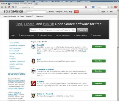 Projekt des Monats Juli 2013 bei SourceForge